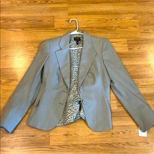Nicole Miller gray blazer
